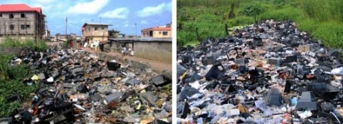 Electronic waste in Lagos, Nigeria